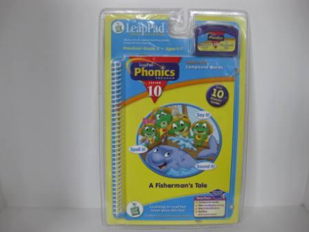 Phonics Program Lesson 10 - Compound Wds (SEALED) - LeapPad Game