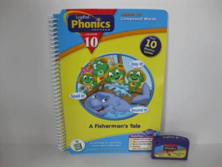 Phonics Program Lesson 10 - Compound Wd (w/ Book) - LeapPad Game