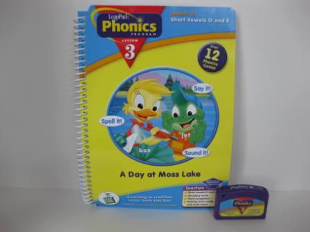 Phonics Program Lesson 3 - Short Vowels (w/ Book) - LeapPad Game