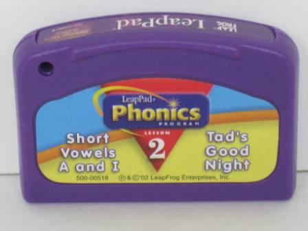 Phonics Program Lesson 2 - Short Vowels (SEALED) - LeapPad Game