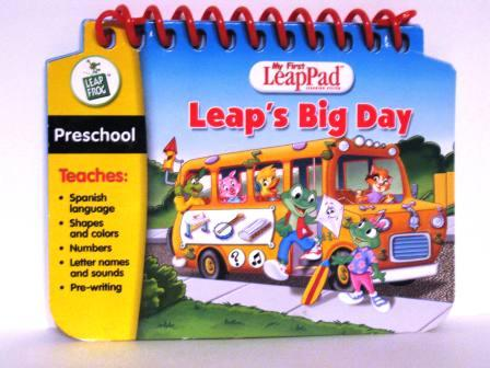 Leaps Big Day (Preschool) - My First LeapPad Book Only