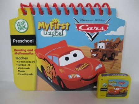 Cars (Reading & Math) (w/ Book) - My First LeapPad Game