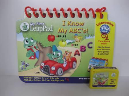 I Know My ABCs! (Interactive) (w/ Book) - My First LeapPad Game