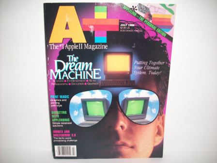 A+ inCider Magazine -  67 - Vol. 6, Iss. 7 - 1988 Jul