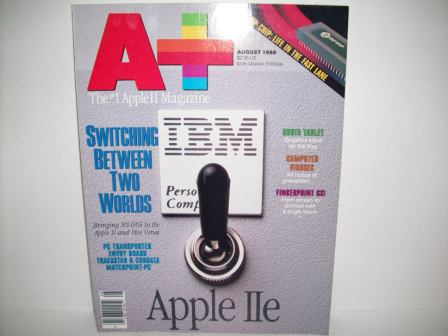 A+ inCider Magazine -  68 - Vol. 6, Iss. 8 - 1988 Aug