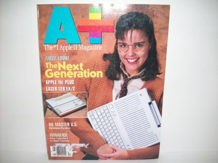 A+ inCider Magazine -  71 - Vol. 6, Iss. 11 - 1988 Nov