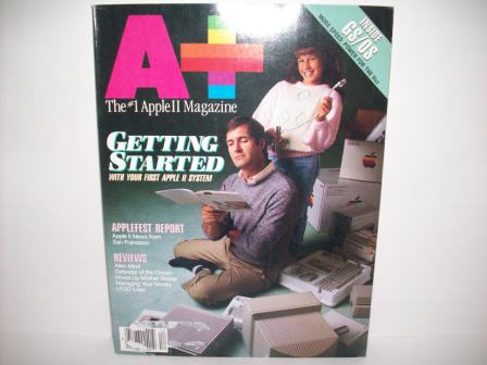 A+ inCider Magazine -  72 - Vol. 6, Iss. 12 - 1988 Dec