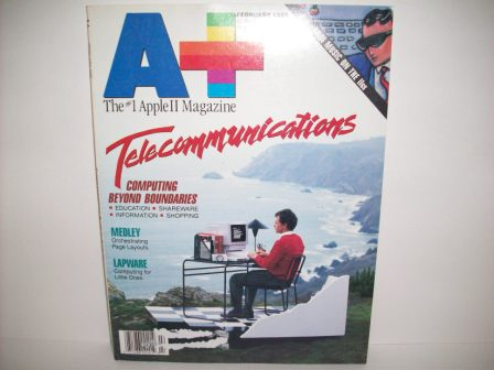 A+ inCider Magazine -  74 - Vol. 7, Iss. 2 - 1989 Feb