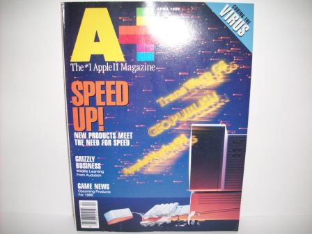 A+ inCider Magazine -  76 - Vol. 7, Iss. 4 - 1989 Apr