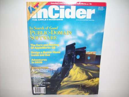 A+ inCider Magazine -  78 - 1989 Jun