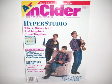 A+ inCider Magazine -  81 - 1989 Sept