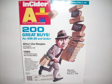 A+ inCider Magazine -  84 - 1989 Dec