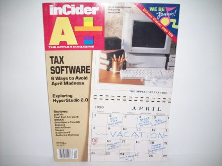 A+ inCider Magazine -  87 - 1990 Mar