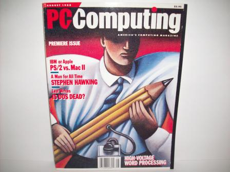 PC Computing Magazine - 1988 Aug (Premier Issue)