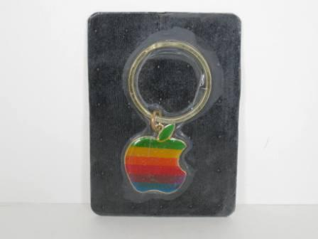 Original Apple Logo Keychain (1980s) (SEALED)