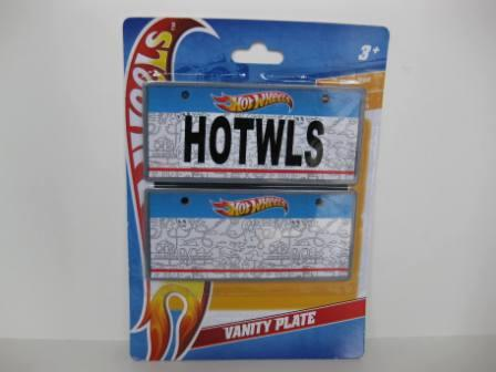 Hot Wheels Vanity License Plates (SEALED)