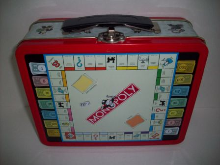 Monopoly Tin Lunch Box (1998)