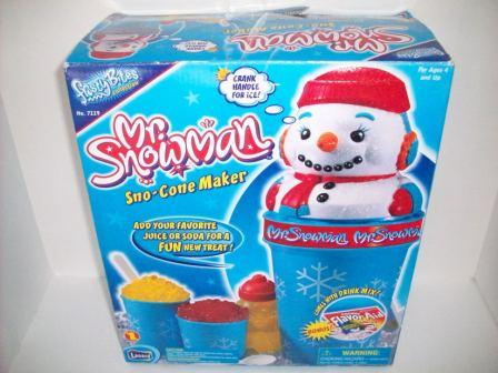 Mr. Snowman Sno-Cone Maker (in Box) (2000)