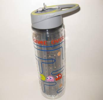 Pac-Man 16oz Tumbler Drink Bottle (NEW)