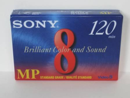 Sony 8mm Video 120 Minutes MP Tape (SEALED)