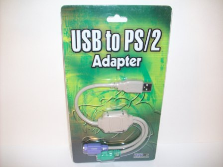 USB to PS/2 Adapter (SEALED)