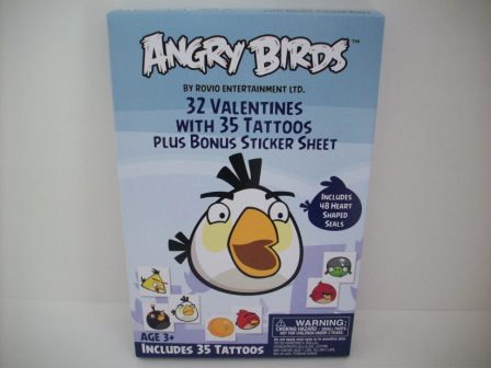 Valentines - Angry Birds - 32 Count (NEW)