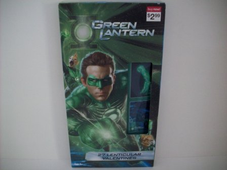 Valentines - Green Lantern - 27 Count (NEW)