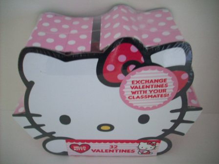 Valentines - Hello Kitty - 32 Count (SEALED)