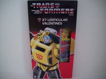Valentines - The Transformers - 27 Count (NEW)