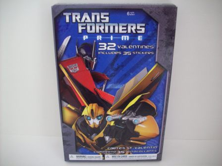 Valentines - Transformers Prime - 32 Count (NEW)