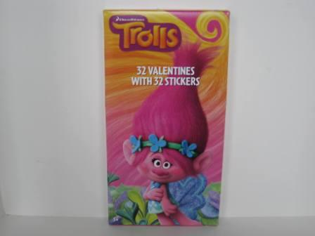Valentines - Trolls - 32 Count (NEW)