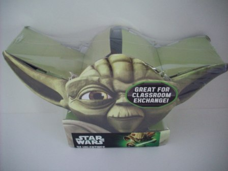Valentines - Yoda Star Wars - 32 Count (SEALED)