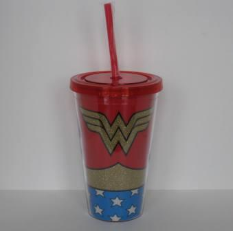 Wonder Woman 16oz Travel Tumbler (NEW)