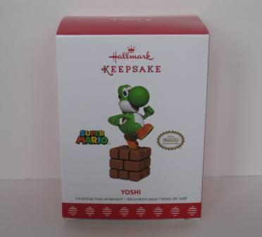 Yoshi Keepsake Ornament by Hallmark (NEW)
