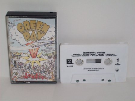Green Day - Dookie - Cassette Tape