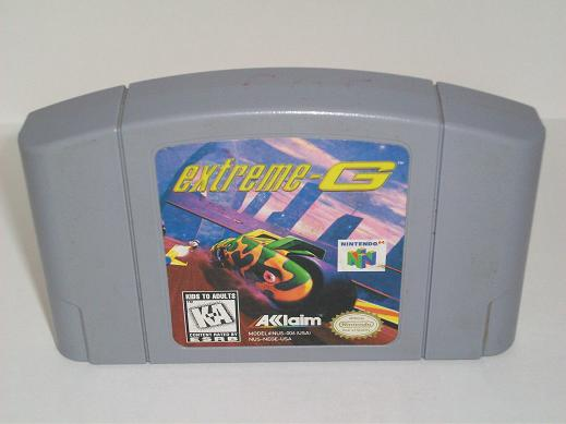 Extreme G - N64 Game