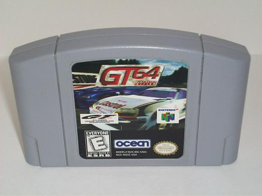 GT 64 Championship Edition - N64 Game