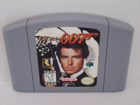GoldenEye 007 - N64 Game