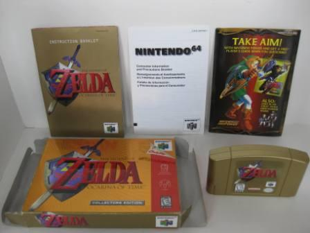 Legend of Zelda: Ocarina of Time (CE) (CIB) - N64 Game