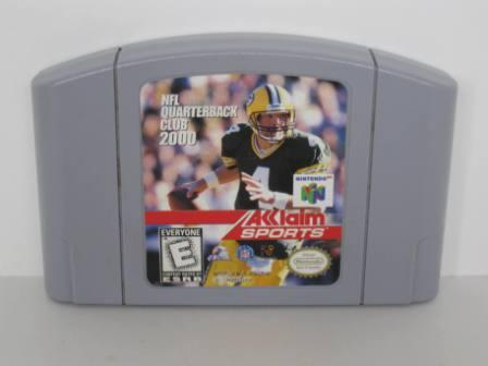 NFL Quarterback Club 2000 - N64 Game