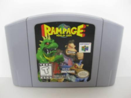 Rampage World Tour - N64 Game