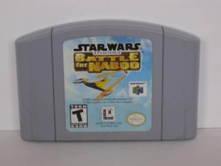 Star Wars Episode I: Battle for Naboo - N64 Game
