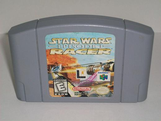 Star Wars Episode I: Racer - N64 Game