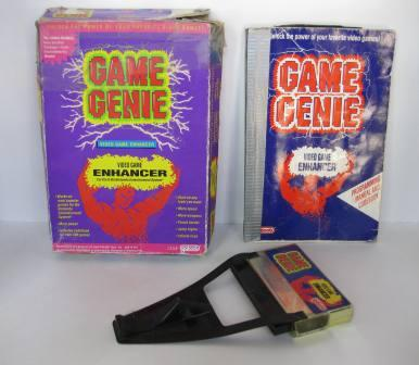 Game Genie (CIB) (Damaged) - NES Accessory