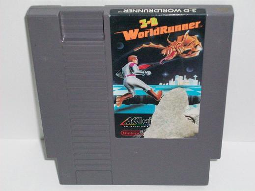3-D Battles of World Runner, The - NES Game