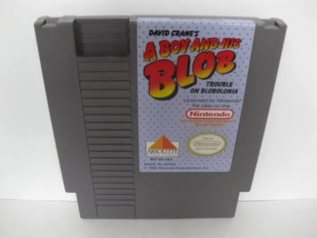 A Boy and His Blob - NES Game