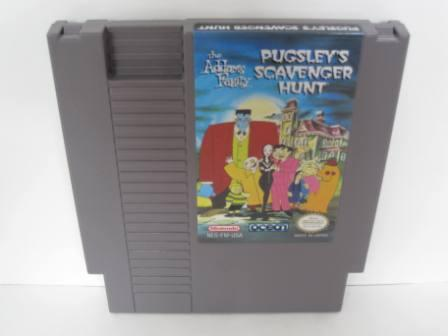 Addams Family, The: Pugsleys Scavenger Hunt - NES Game