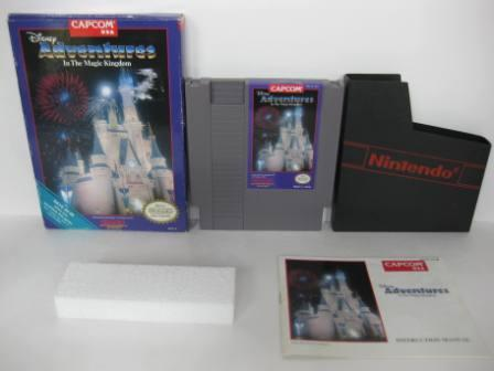 Adventures in the Magic Kingdom, Disneys (CIB) - NES Game