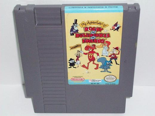 Adventures of Rocky & Bullwinkle & Friends, The - NES Game
