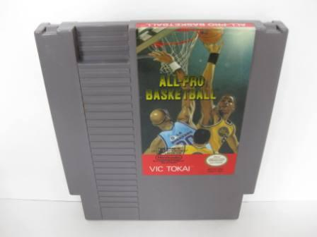 All-Pro Basketball - NES Game